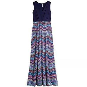 NWT StitchFix Gilli Tahj 2fer Printed Maxi Dress